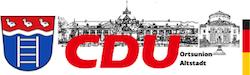 CDU Bad Oeynhausen – Ortsunion Altstadt Logo
